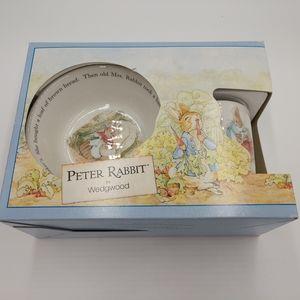 Peter Rabbit by Wedgwood nursery set